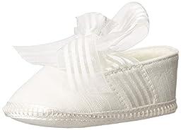 Baby Deer 2242 Crib Shoe (Infant/Toddler),Ivory,1 M US Infant