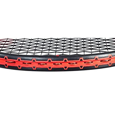 Babolat Pure Strike 18 / 20 Unstrung Racquet and Pro Xtreme X 200M String Combo Pack, Grip 4.375