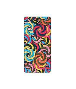 Kolor Edge Printed Back Cover for Sony Xperia C5 Ultra - Multicolor (4394-Ke10132SonyC5UltraSub)