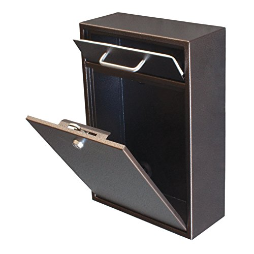 Wall Mounted Mailbox Epoch Design Locking Drop Box Mail