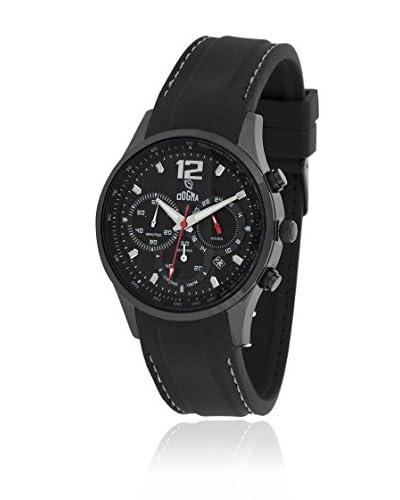 Dogma Reloj con movimiento cuarzo suizo Dgcrono-346B Negro 45  mm