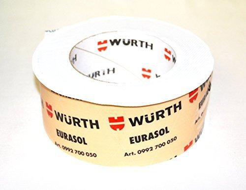 6-rollos-wurth-eurasol-cinta-de-fijacion-banda-tensora-inferior-de-un-lado-60mm-x-25m