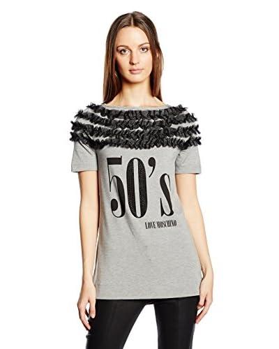 Love Moschino T-Shirt Manica Corta [Grigio]