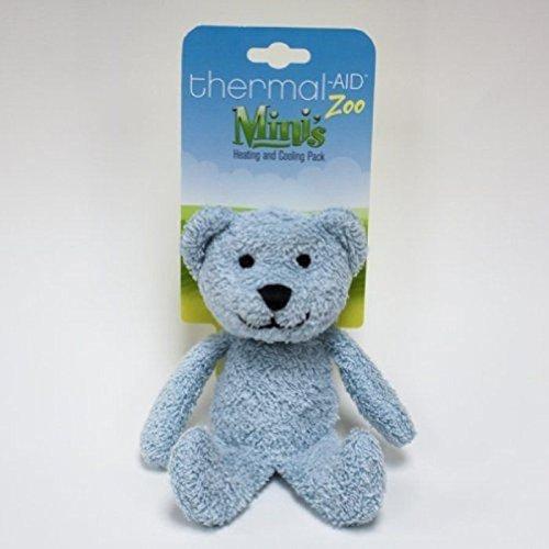 Thermal-Aid Mini Blue Bear Stuffed Natural
