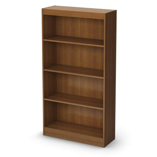 South Shore Axess Collection 4-Shelf Bookcase, Morgan Cherry front-871330