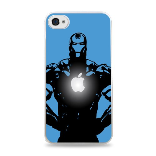 146 Iron Man Apple Iphone 5C Hardshell Case - White front-1032949