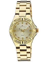 Daniel Klein Analog Gold Dial Women's Watch - DK10202-8