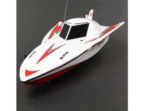 NQD 757-065 Multifunctional 1:16 R/C Radio Control Racing Speed Boat Yacht (White)