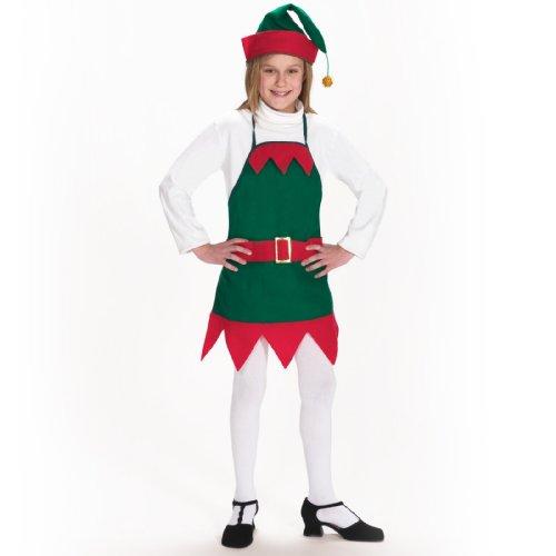 Elf Apron and Hat Kids Costume
