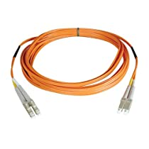 Tripp Lite N520-100M  Multimode Duplex 50/125 Fiber Optic Patch Cable LC/LC (100 Meters)