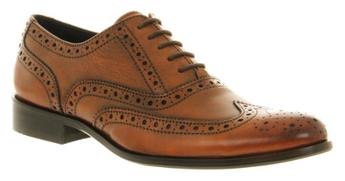 Office Frankie Brogue Tan Leather - 10 Uk