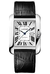 Cartier Tank Anglaise Large White Gold Watch Watch - W5310031
