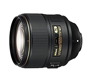 Nikon AF-S FX NIKKOR 105mm f/1.4 ED Lens with Auto Focus for Nikon DSLR Cameras