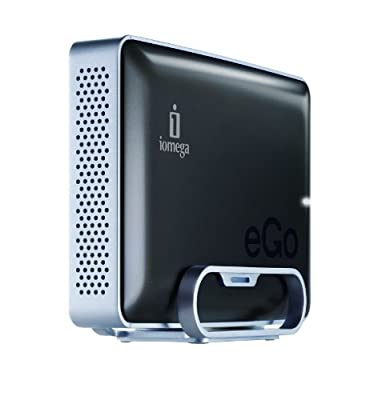 Iomega eGo 3 TB USB 3.0 Desktop External Hard Drive 35451 (Gray) from Iomega