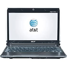Acer Aspire One 10.1-Inch Mobile Broadband Netbook with Windows 7 (AT&T)