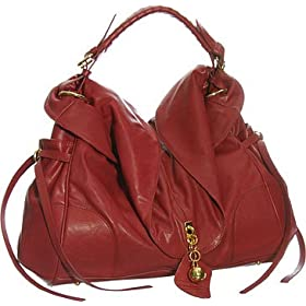 Oversized ''Ashlee'' Tote - Brown, Red, Black or White