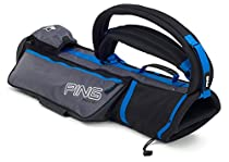 NEW 2013 Ping Moonlite Sunday Carry Bag BLACK/CHARCOAL/ELECTRIC BLUE