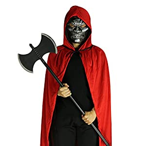 AISHNE Unisex Hooded Cloak Role Cape Play Costume Full Length Halloween Party Cape