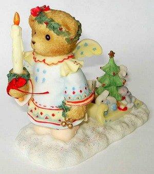 "Cherished Teddies Isabel ""Let Your Love Shine Bright"" Figurine front-1000003"