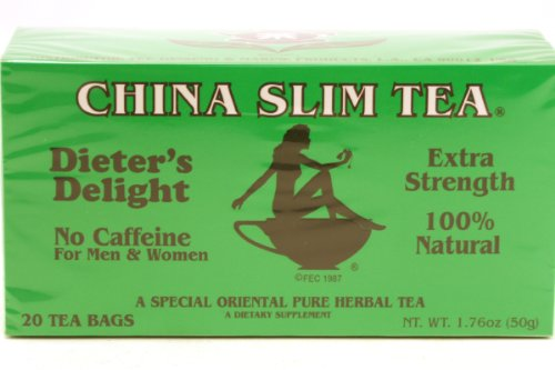 China Slim Tea (Extra Strength/ 20-Ct) - 1.7Oz (Pack Of 3)