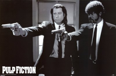 1art1, 39100, Poster, motivo: Pulp Fiction, 91 x 61 cm