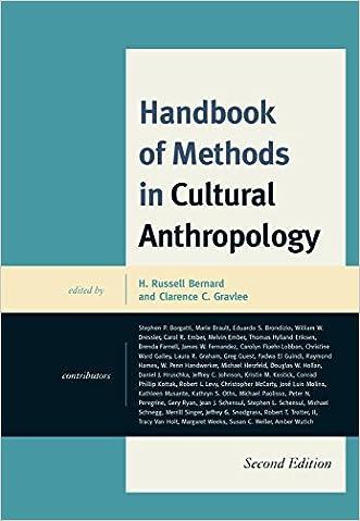 Handbook of Methods in Cultural Anthropology written by H. Russell Bernard