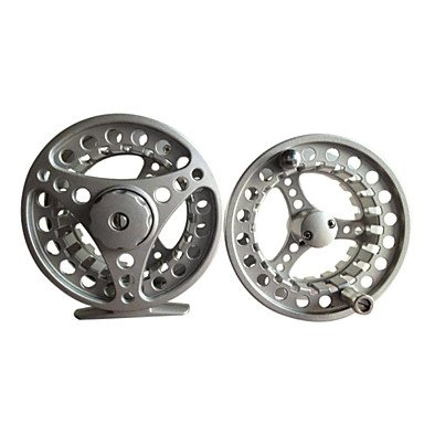 SJ – Professional Black Metal Fishing Fly Reel With A Spare Reel