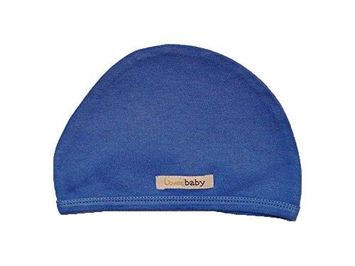 L'Ovedbaby Unisex-Baby Newborn Organic Cute Cap, Slate, New Born front-952064