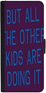 Snoogg But All The Other Kids Are Doing It 2916 Designer Protective Flip Case...