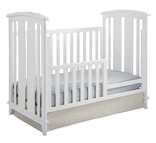 Kolcraft 3-in-1 Elan Crib Conversion Kit, White