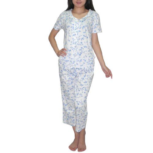 2Pc Sleepwear Set: Womens Comfortable Fit Gorgeous Pajama Set