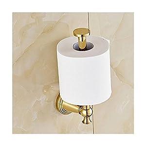 aquafaucet vertical toilet tissue paper holder wall mount tissue bracket gold. Black Bedroom Furniture Sets. Home Design Ideas