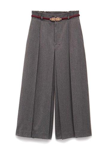 Lily Brown(リリーブラウン)タックガウチョパンツ : 服&ファッション小物通販 | Amazon.co.jp