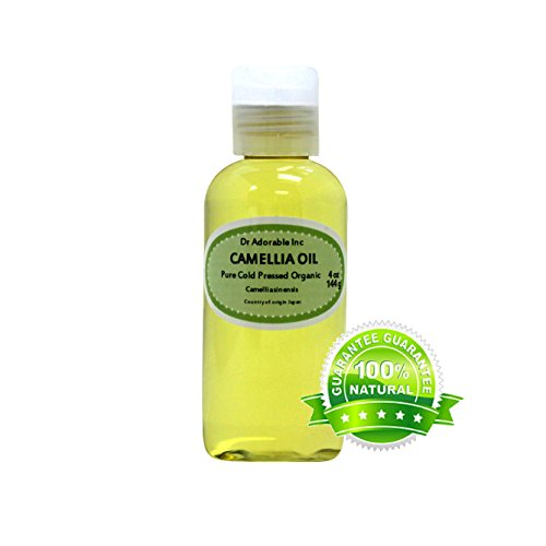 Camellia Seed Organic Carrier Oil Cold Pressed 100% Pure 4 Oz