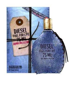 Diesel Fuel for Life Denim Collection Homme Profumo Uomo di Diesel - 50 ml Eau de Toilette Spray