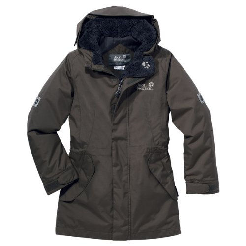 Jack Wolfskin Jacke Girls 5th Avenue granite (Größe: 104)