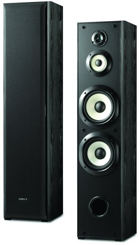 Christmas Sony SS-F6000 Floorstanding 4-Way Speakers (Pair, Black) Deals