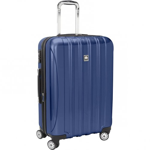 Delsey Helium Aero Carry-On Spinner Trolley, Blue, One Size best buy