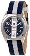 Tommy Hilfiger Womens 1781295  Casual Sport Blue and White