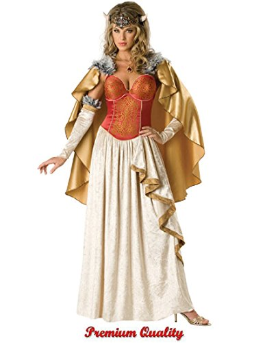 Women's Viking Princess Elite Costume