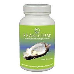 Pearlcium Pearl Powder (120 Capsules)