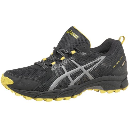 Asics Mens Gel Lahar 4 Gore-Tex Trail Running Shoes Black/Sulphur