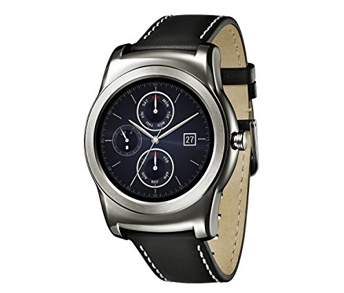 LG Watch Urbane Smartwatch (3,3 cm (1,3 Zoll) P-OLED Display, Android Wear) silber 2