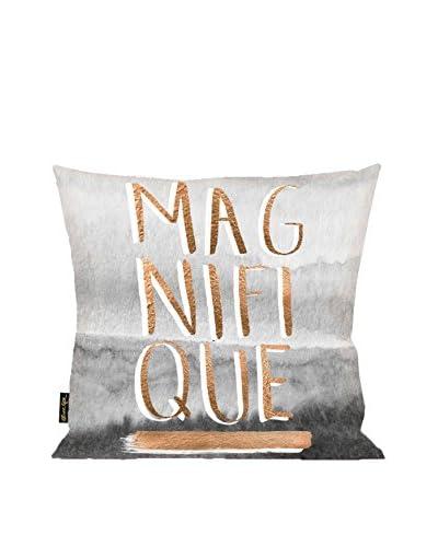 Oliver Gal Magnifique Rose Pillow, Multi