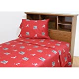 West Virginia Mountaineers twin sheet set at Sears.com