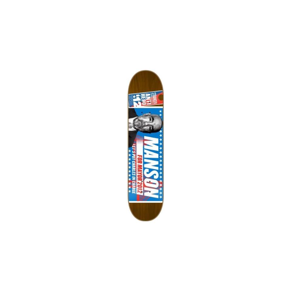 0242eeb87f4 Anti Hero Stranger Campaign Deck 7.9 Brown Skateboard Decks on PopScreen
