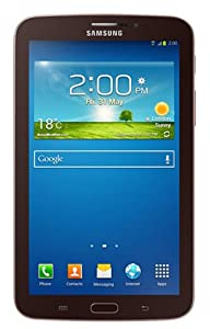 Samsung Galaxy Tab 3 SM-T211 Tablet (7-inch, WiFi, 3G, Voice Calling), Gold-Brown