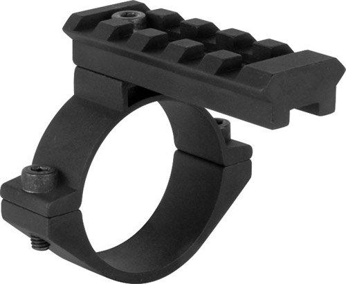 Tactical Barrel Mount Rail Adaptor For 12 Gauge Shotgun Magazine Tubes Fits Remington 870 1100 Mossberg 500 590 835 930 935 Maverick 88 Winchester 1300 FN TPS Savage Stevens 320 Pump Shotguns