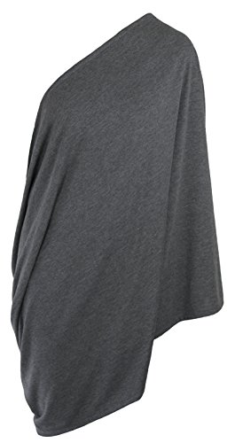 Infinity Breastfeeding Scarf & Nursing Cover   Lightweight No See Through (Grey) (Butterfly Car Seat Strap Covers compare prices)
