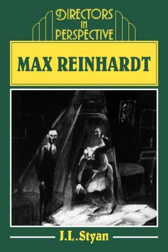 Max Reinhardt Paperback: 0 (Directors in Perspective)